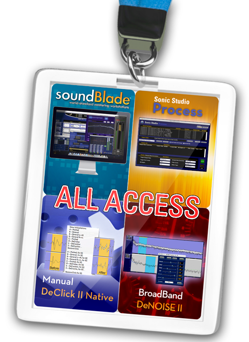 soundBlade HD All Access