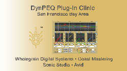 DynPEQ Clinic at Coast Mastering