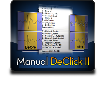 Manual DeClick II
