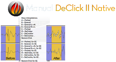 Manual DeClick II Native