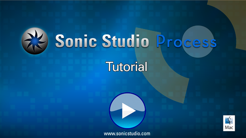 Sonic Studio Process Tutorial Video