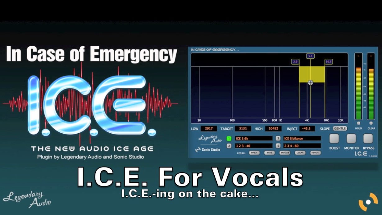 I.C.E. Vocals Video